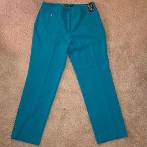 NWT Turquoise Slacks